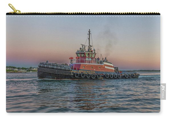 Tugboat Buckley Mcallister At Sunset Carry-all Pouch