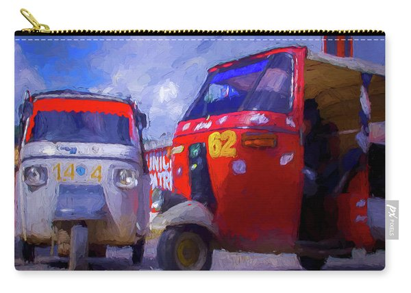 Tuk Tuks  Carry-all Pouch