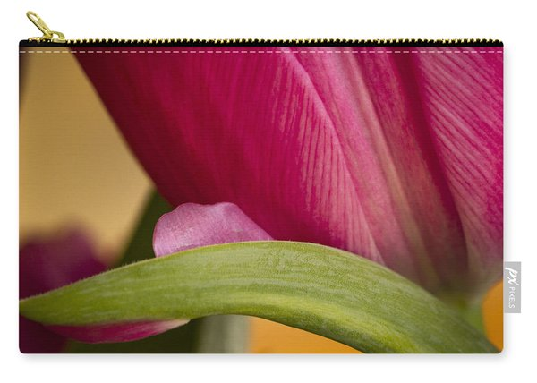 Tulip Detail Carry-all Pouch