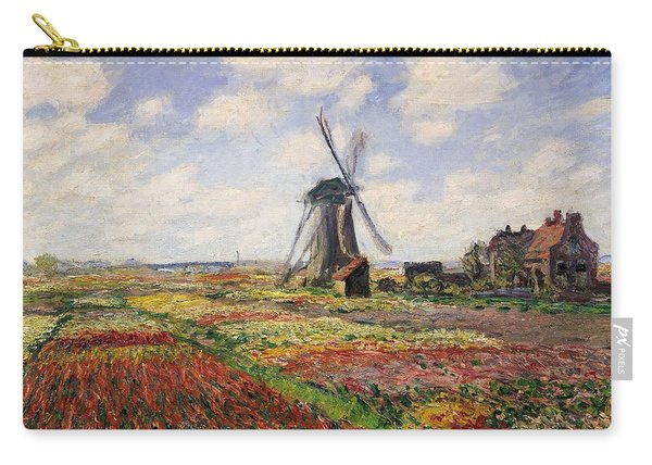 Tulip Fields With The Rijnsburg Windmill Carry-all Pouch