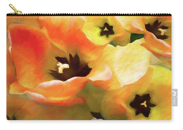 Tulip Sheen 3  Carry-all Pouch