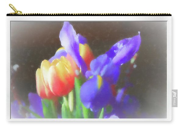 Tulips And Iris Carry-all Pouch