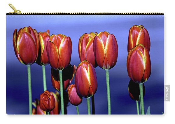 Tulips At Attention Carry-all Pouch