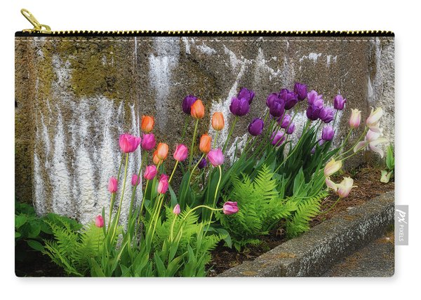 Tulips In Ruin Carry-all Pouch