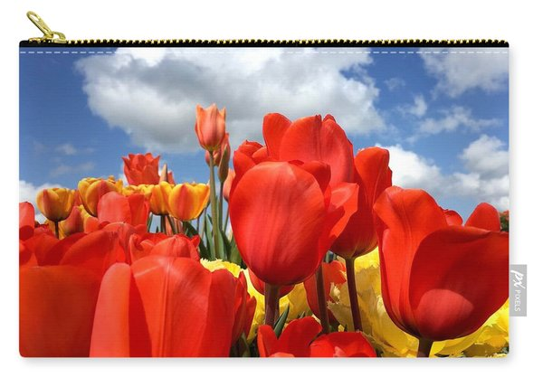 Tulips In The Sky Carry-all Pouch
