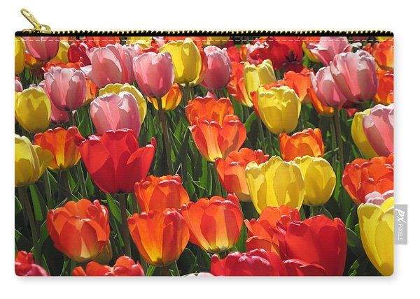 Tulips Like Sunlight Carry-all Pouch