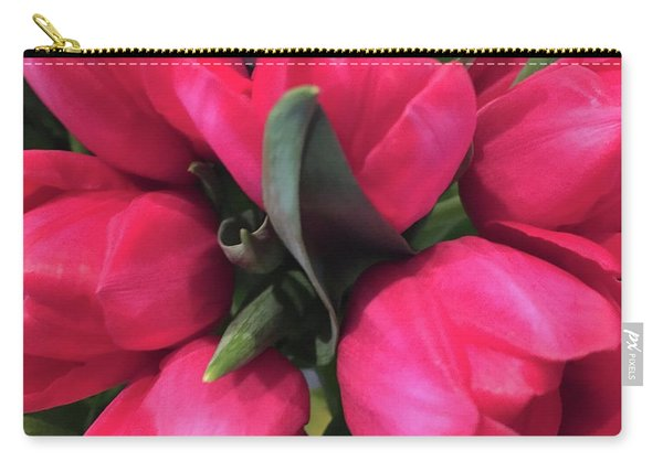 Tulips-macro Carry-all Pouch