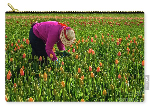 Tulips Picker Carry-all Pouch