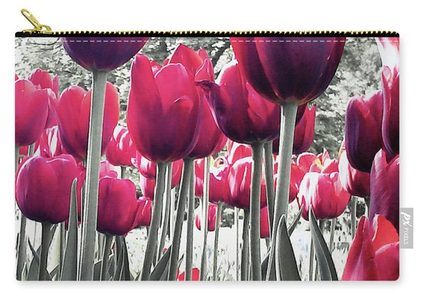 Tulips Tinted Carry-all Pouch