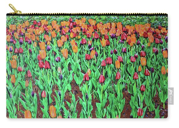 Tulips Tulips Everywhere Carry-all Pouch