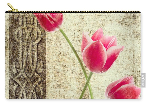 Tulips Vintage  Carry-all Pouch