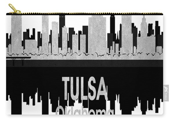 Tulsa Ok 4 Vertical Carry-all Pouch