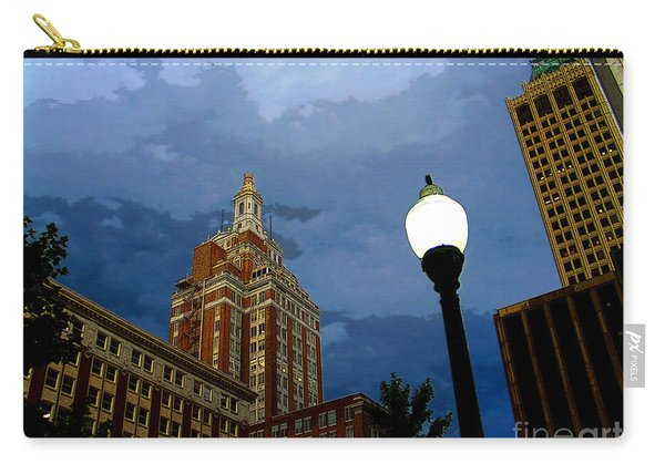 Tulsa Streetscape Carry-all Pouch