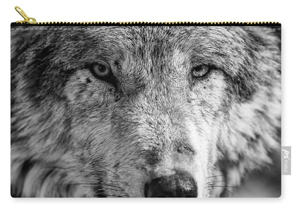 Tundra Wolf Carry-all Pouch