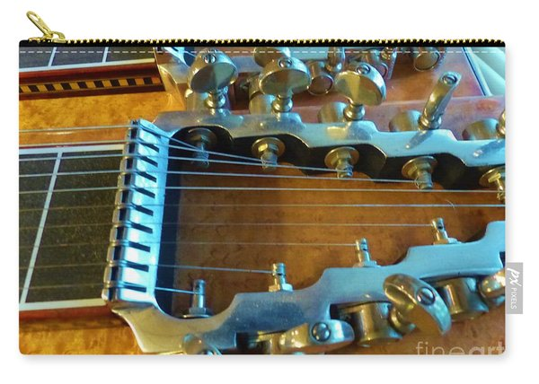 Tuning Pegs On Sho-bud Pedal Steel Guitar Carry-all Pouch