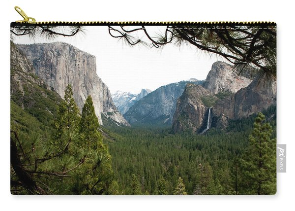 Tunnel View Framed Carry-all Pouch
