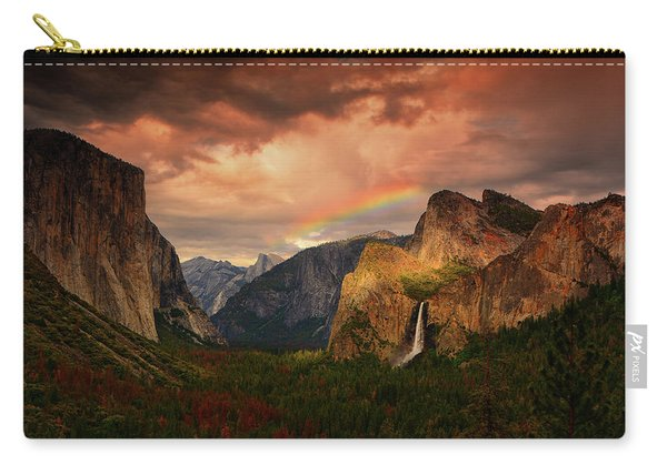 Tunnel View Rainbow Carry-all Pouch