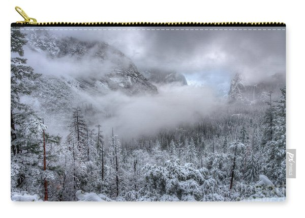 Tunnel View Yosemite National Park Ansel Adams Carry-all Pouch