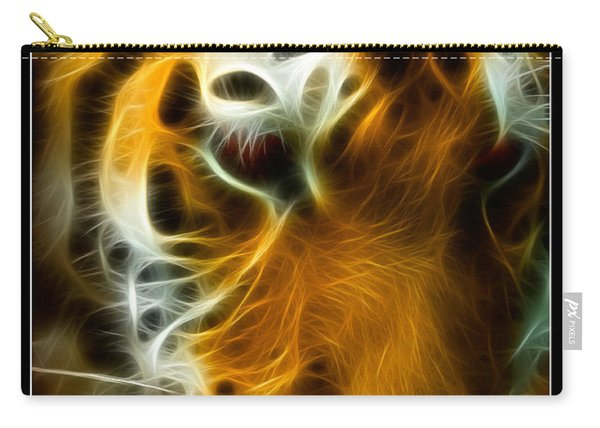 Turbulent Tiger Carry-all Pouch