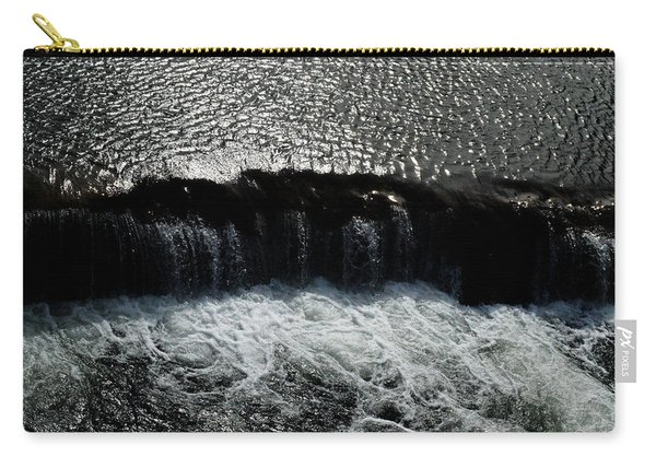 Turbulent Water Carry-all Pouch