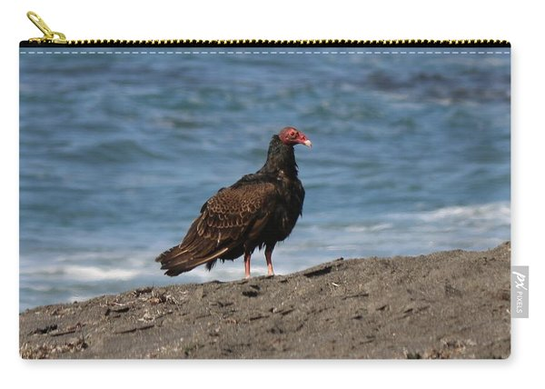 Carry-all Pouch featuring the photograph Turkey Vulture  by Christy Pooschke