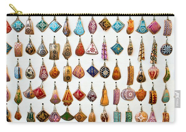 Turkish Earrings Carry-all Pouch