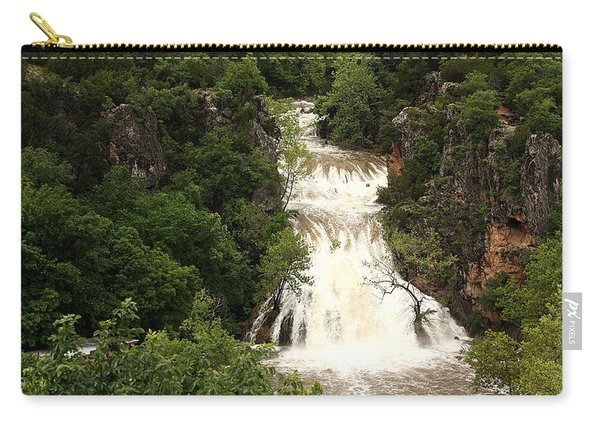 Turner Falls Waterfall Carry-all Pouch