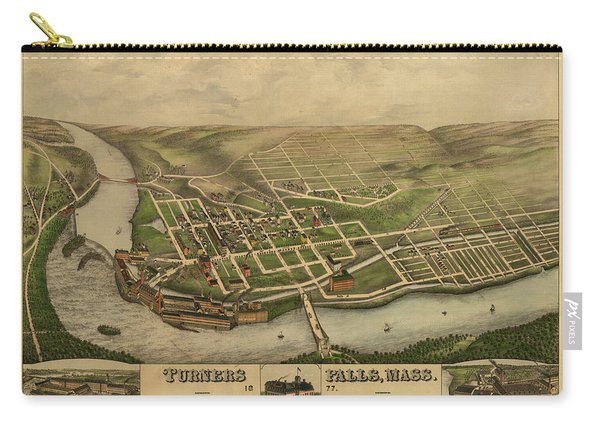 Turners Falls, Mass. Carry-all Pouch