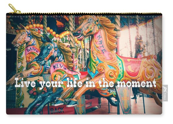 Turning Jumpers Quote Carry-all Pouch