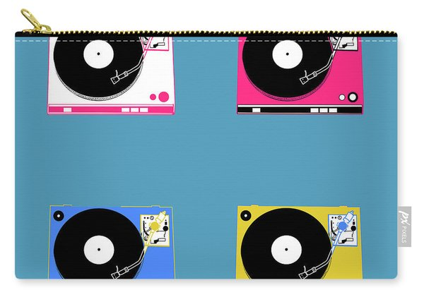 Turntable Pop Art 2 Carry-all Pouch