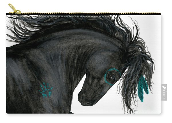 Turquoise Dreamer Horse Carry-all Pouch