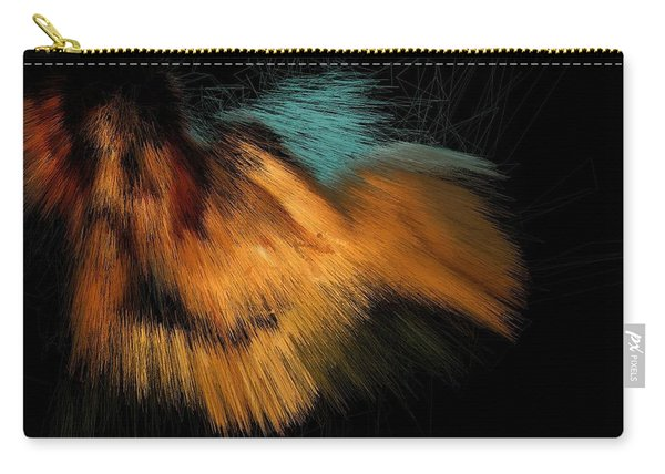 Turquoise Dunes Carry-all Pouch