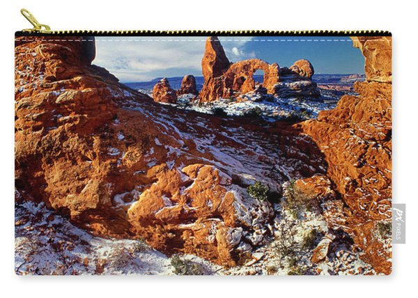 Turret Arch Through North Window Arches National Park Utah Carry-all Pouch