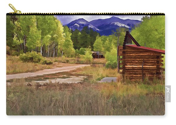 Turrett - Colorado Ghost Town Carry-all Pouch