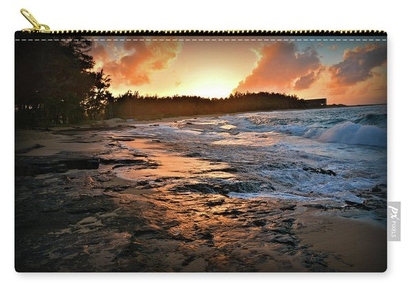 Turtle Bay Sunset 1 Carry-all Pouch