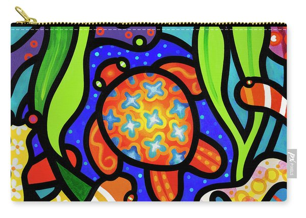 Turtle Reef Carry-all Pouch