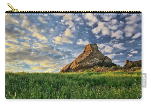 Turtle Rock At Sunset 2 Carry-all Pouch