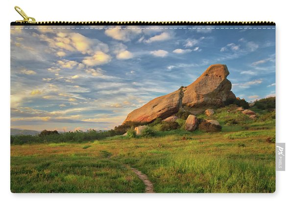 Turtle Rock At Sunset Carry-all Pouch