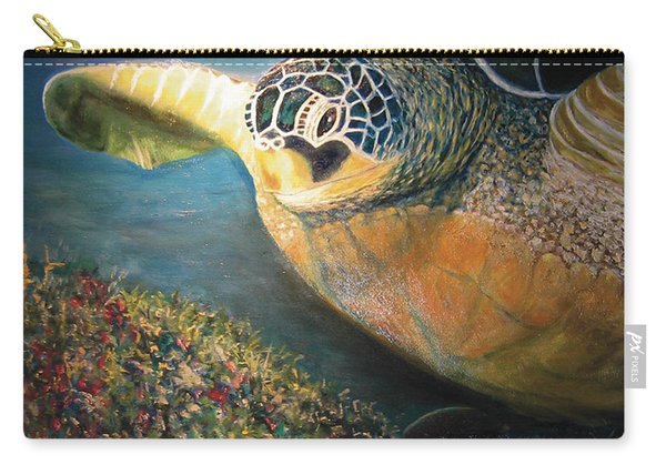 Turtle Run Carry-all Pouch