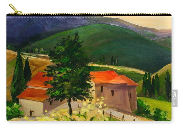 Tuscan Hills Carry-all Pouch