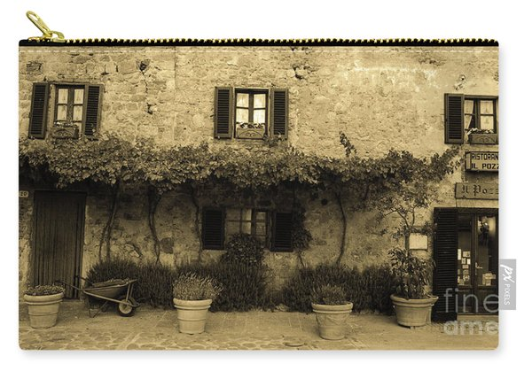 Tuscan Village Carry-all Pouch