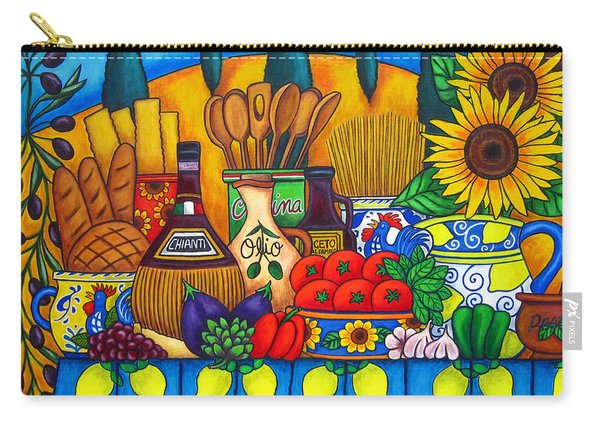 Tuscany Delights Carry-all Pouch