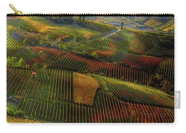 Tuscany, Italian Wineyards  Carry-all Pouch