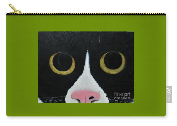 Tux Portrait  Carry-all Pouch