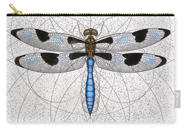 Twelve Spotted Skimmer Carry-all Pouch