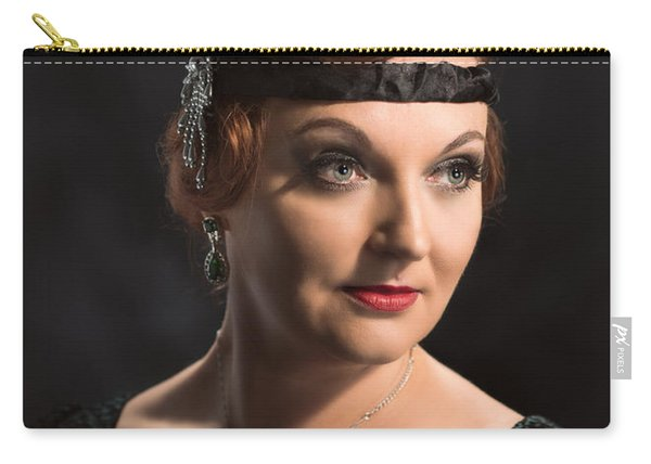 Twenties Flapper Girl Carry-all Pouch
