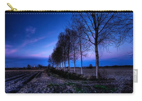 Twilight And Trees Carry-all Pouch