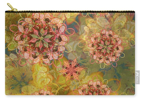 Twilight Blossom Bouquet Carry-all Pouch