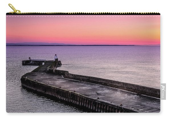 Twilight, Burghead Harbour Carry-all Pouch
