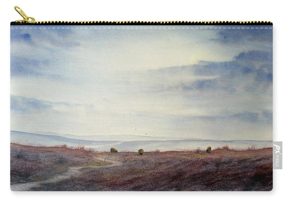Twilight Settles On The Moors Carry-all Pouch